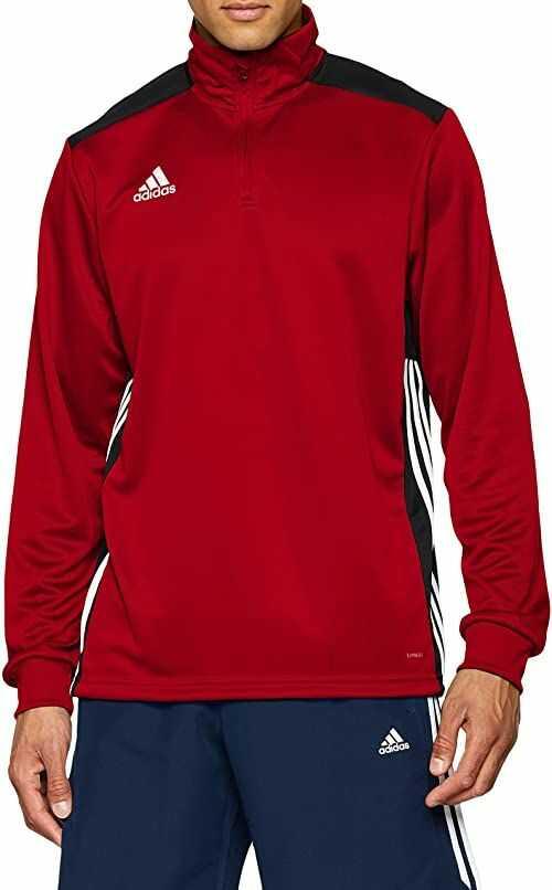 adidas Regi18 TR Top bluza męska, Power Red/Black, 2XL