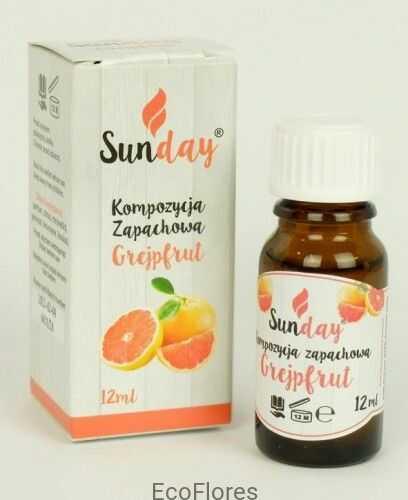 Olejek zapachowy GREJPFRUT 12 ml SunDay