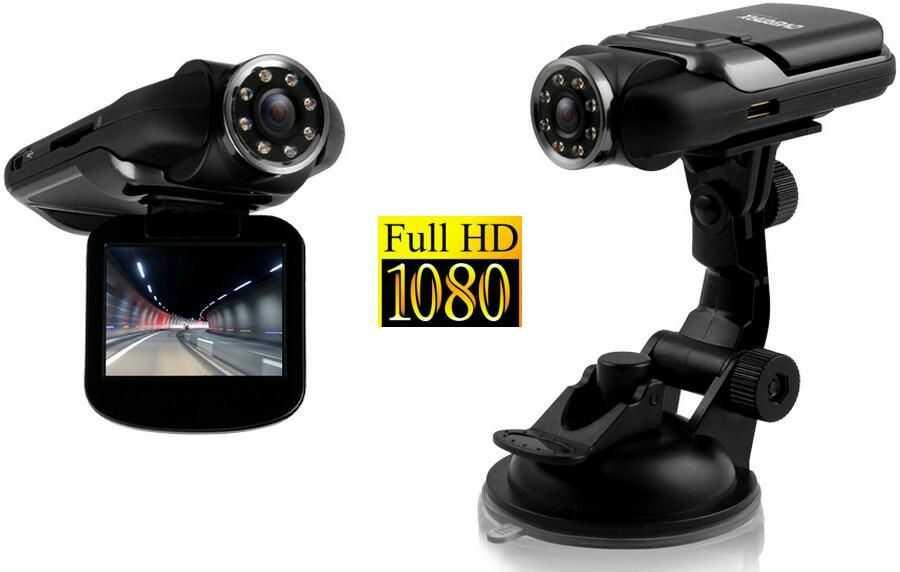 "Kamera/Rejestrator Samochodowy Overmax FULL HD!! z Ekranem LCD 2"" + 8xIR + Memu PL..."