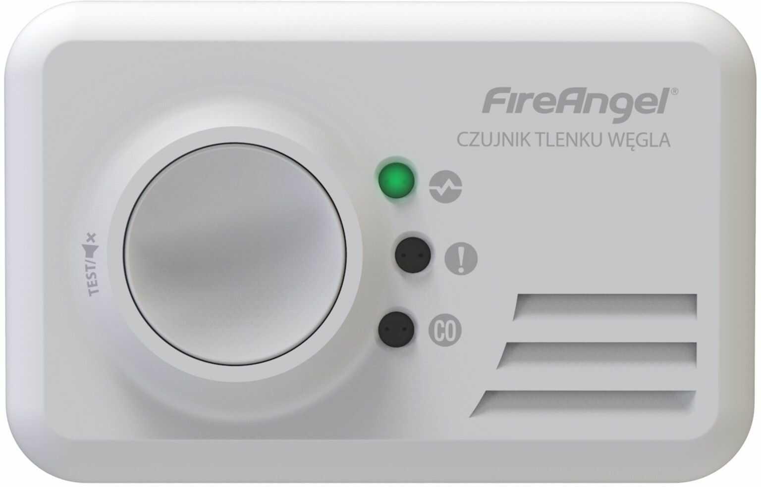 Bezprzewodowy czujnik czadu CO-9X10-PLT FIREANGEL