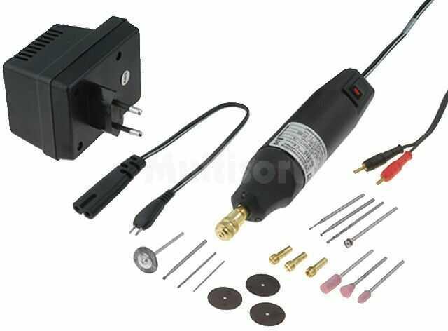 Wiertarka DONAU 0550V1 z wyposażeniem 12000 20000 obr./min 45W 12 18 VDC