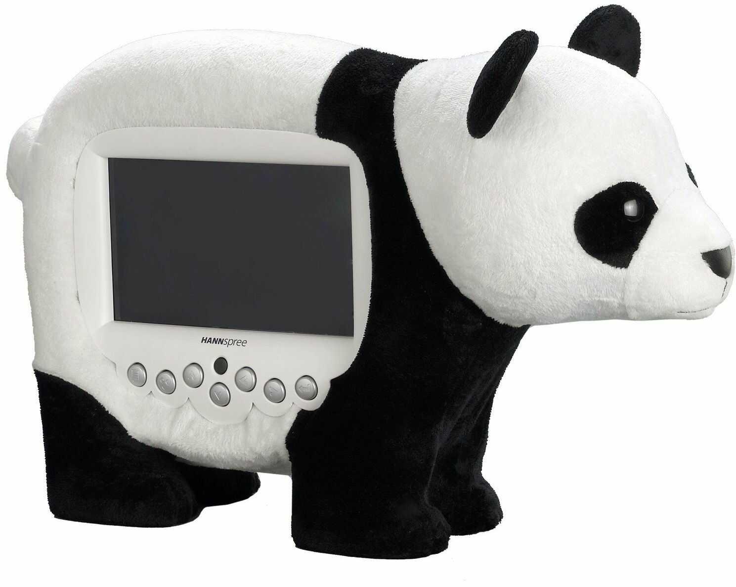 "Hannspree cyfrowa ramka na zdjęcia Panda / 20,32 cm (8"") (LED, 800 x 480, JPEG, MP3)"