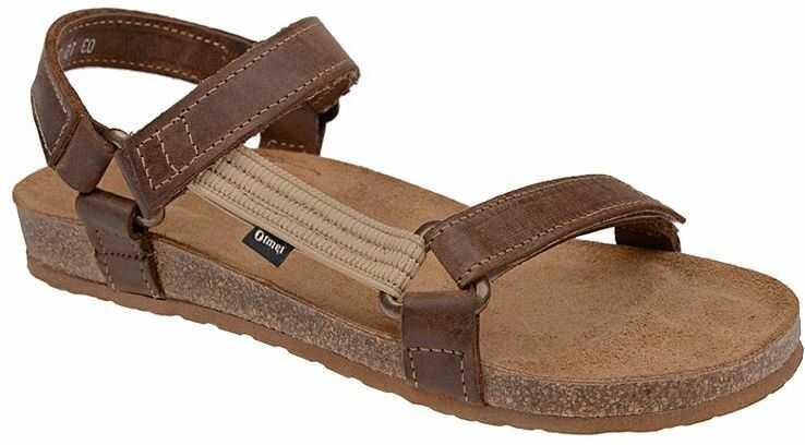 Sandały OTMĘT 405CP Brązowe Jezuski NaturForm Fussbett