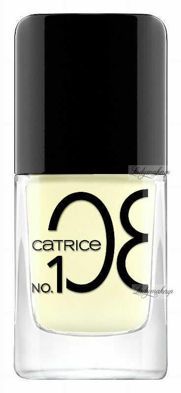 Catrice - ICONails Gel Lacquer - Żelowy lakier do paznokci - 108 - PASTEL LEMON