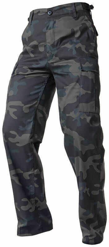 Brandit Spodnie Bojówki BDU US Ranger Dark Camo