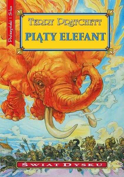 Świat Dysku. Piąty elefant (wyd.2021) - Terry Pratchett