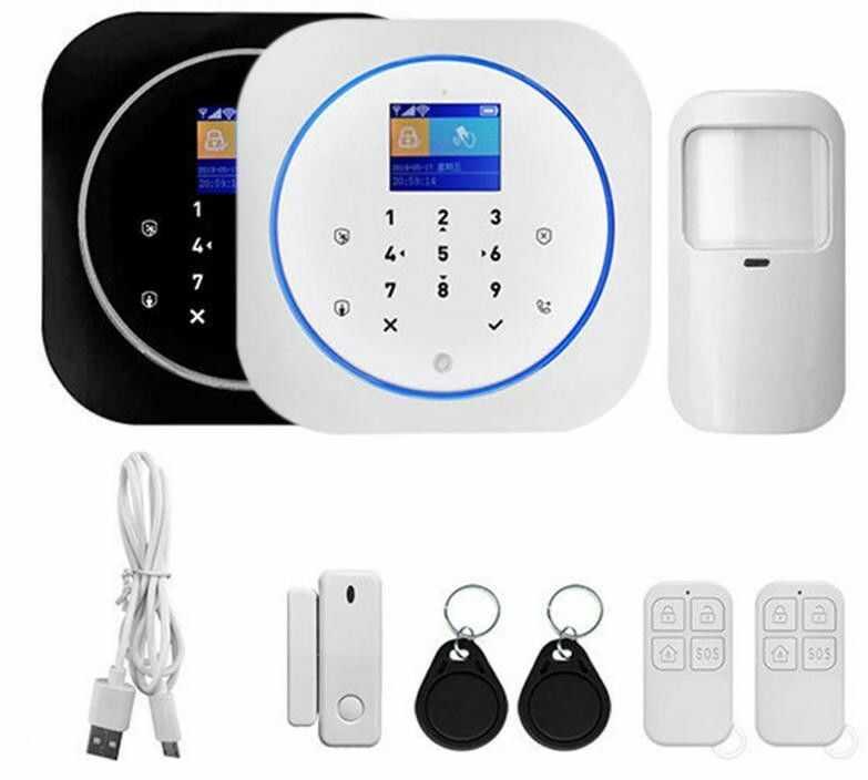 Alarm bezprzewodowy GSM Satlink SL-G12 czarny