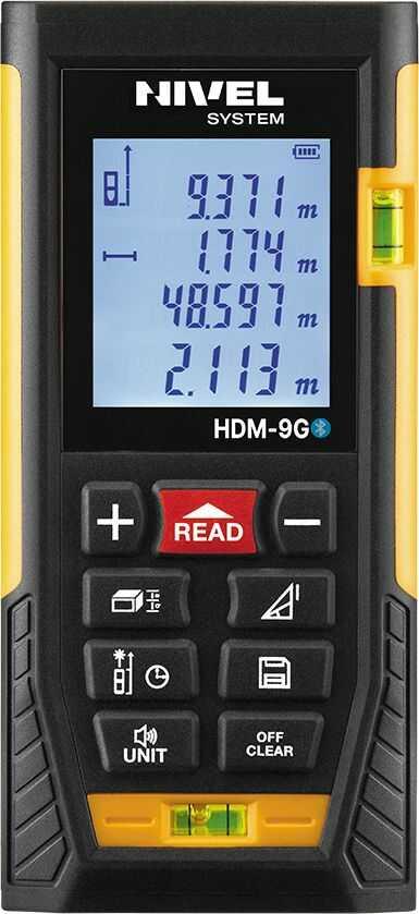 Dalmierz laserowy Nivel System HDM-9G zielony