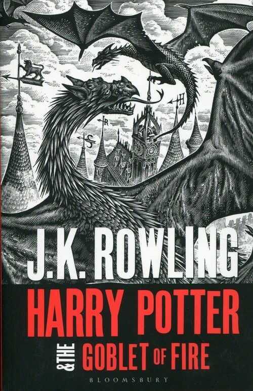 Harry Potter and the Goblet of Fire ZAKŁADKA DO KSIĄŻEK GRATIS DO KAŻDEGO ZAMÓWIENIA