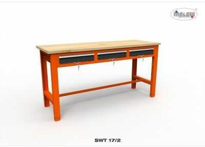 Stół narzędziowy SWT 17/02 ''TRÓJKA'' warsztat metalowy narzędzia