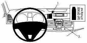 ProClip do Renault Laguna 08-15