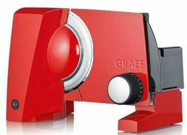 Krajalnica GRAEF SKS 10003 czerwona I tel. (22) 266 82 20 I Raty 0 % I Bezpieczne zakupy I Płatności online !