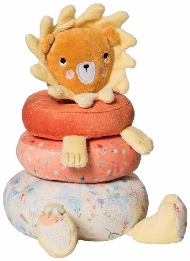 Układanka na paliku Pluszowy lew 216450-Manhattan Toy, maskotki i pluszaki