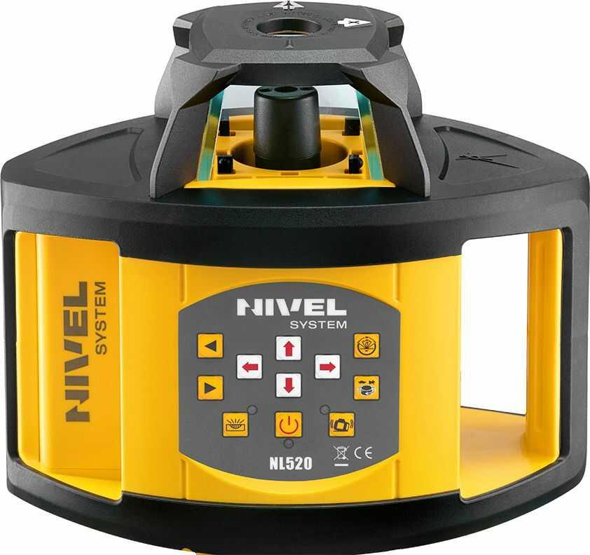 Niwelator laserowy Nivel System NL520G (wiązka zielona)