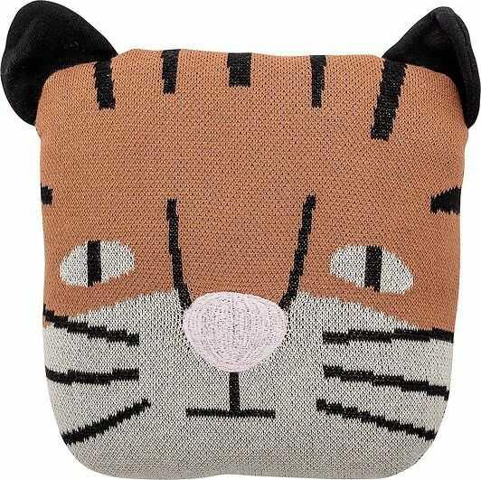 Poduszka muzamel tygrys 30 x 30 cm