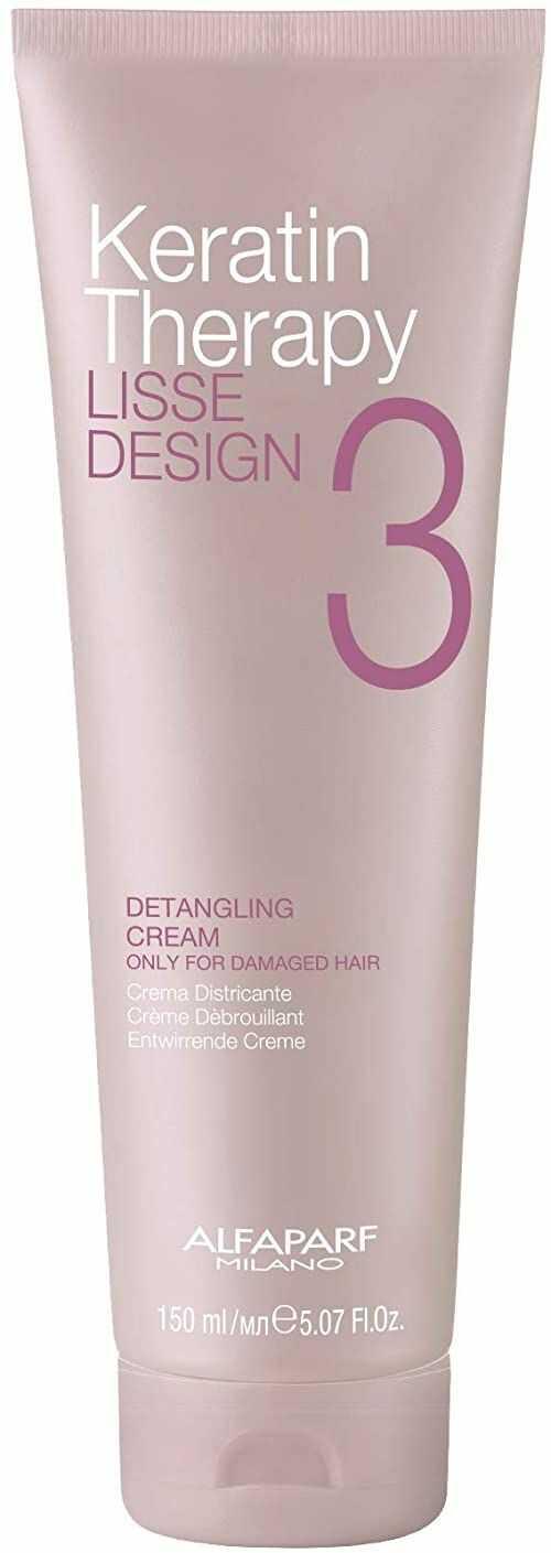 Alfaparf Milano Keratin Therapy Lisse Design Detangling Cream, 150 ml