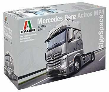 Italeri 3905 1:24 Mercedes Benz Actros MP4 Gigaspace