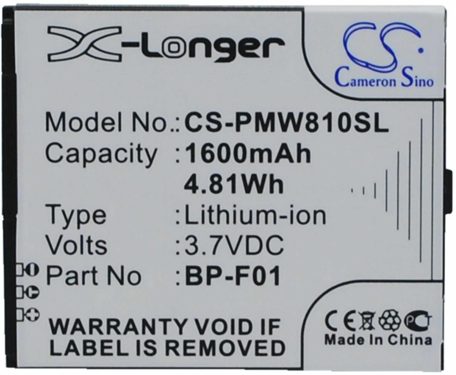 Cameron Sino CS-PWH303SL akumulator do Panasonic WX-H3030/WX-T3020/Attune 3020 (1050 mAh)