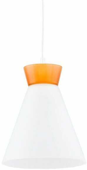 Nowoczesny lampa sufitowa RONI I pomarańczowy śr. 23cm