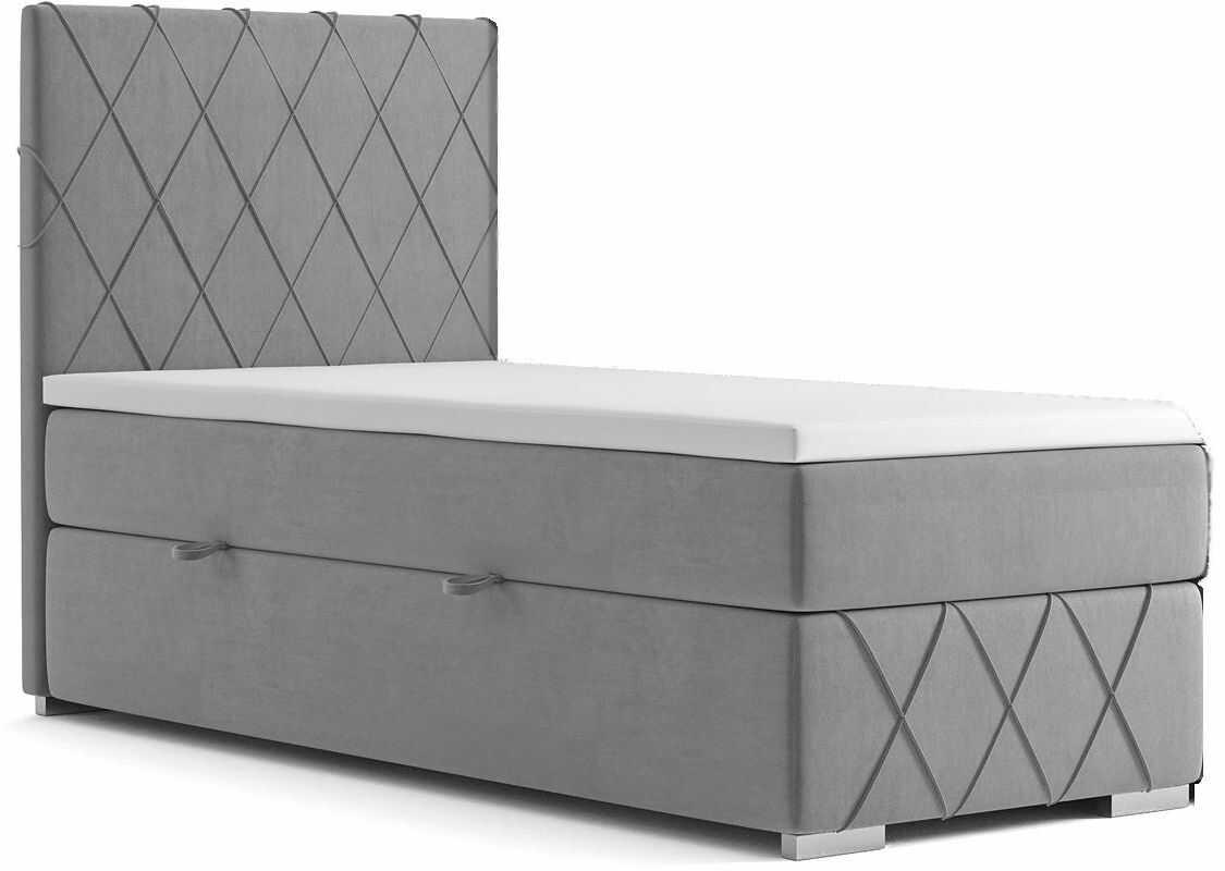 Pojedyncze łóżko boxspring Elise 80x200 - 58 kolorów