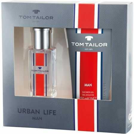 Tom Tailor Urban Life Man 30ml woda toaletowa + 150ml żel pod prysznic [M] ZESTAW