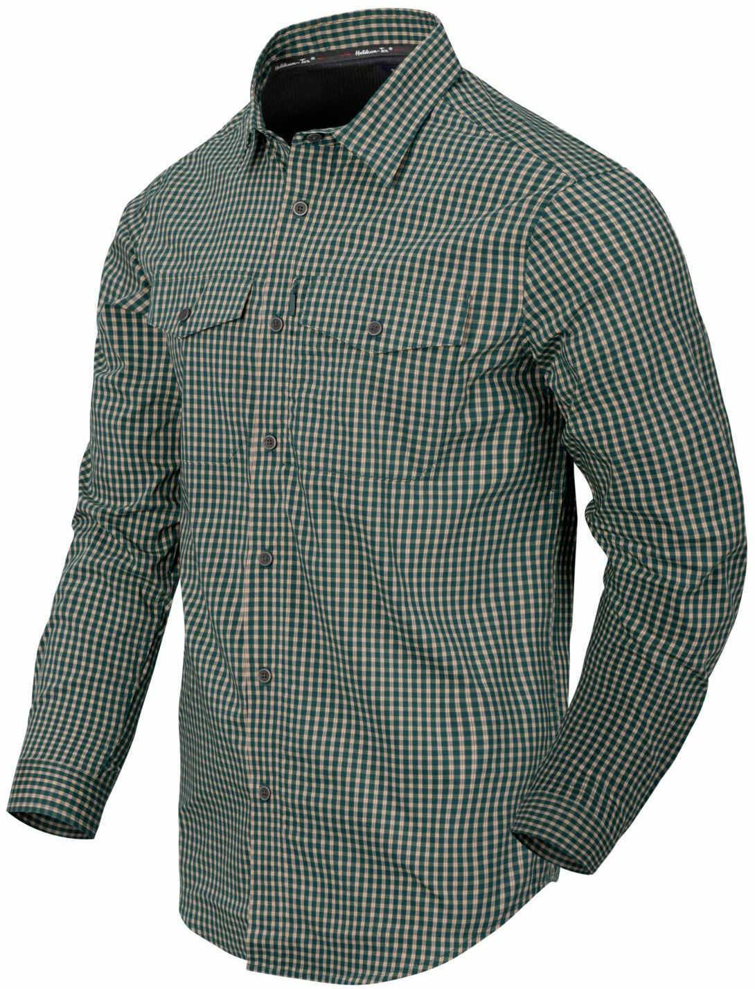Koszula Helikon Covert Concealed Carry Savage Green Checkered (KO-CCC-CB-C1) H