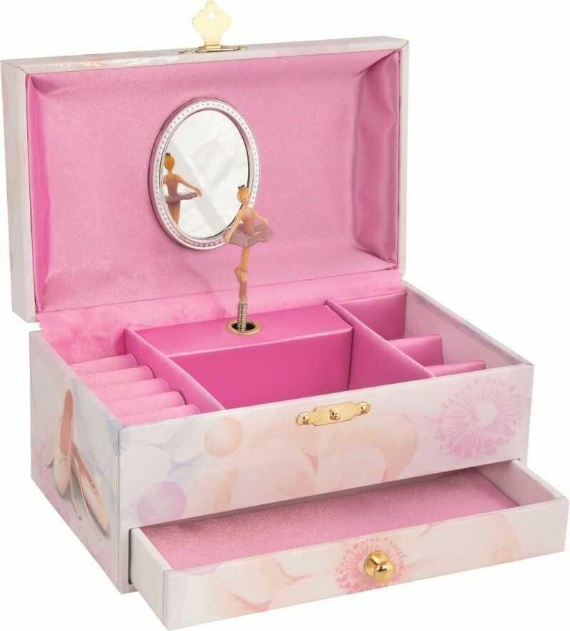 Pozytywka dla dzieci Balerina Jezioro Łabędzie 15556-Goki, szkatułki na biżuterię