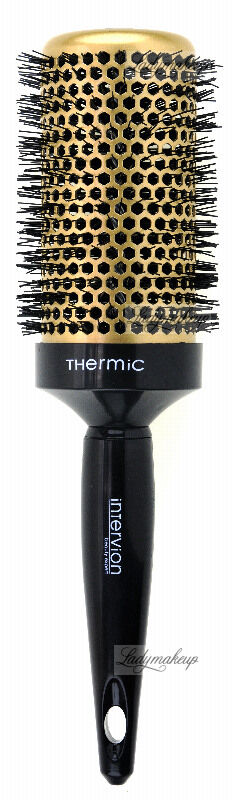 Inter-Vion - Thermic Hair Styling Brush - Termiczna szczotka do stylizacji bardzo długich włosów 55 mm - Gold Label