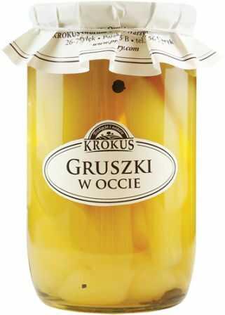 Gruszki w Occie Gruszka 700g - Krokus