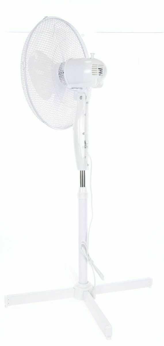 Wentylator stojący ELEM Garden CCVP40W-400 40cm wiatrak stojący o regulacji wysokości 105/120cm świetnie sprawdzi się w domu i biurze w sezonie letnim