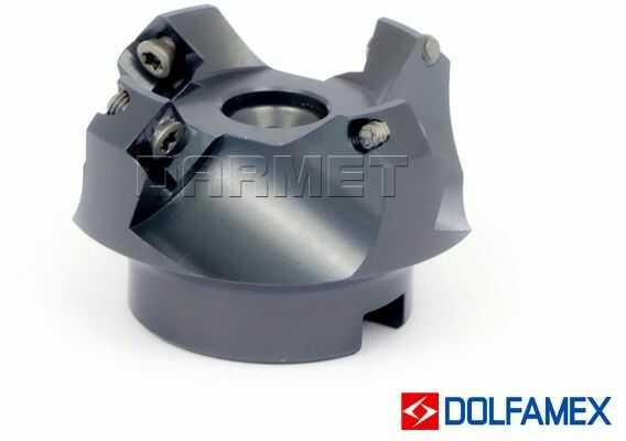 Frez składany nasadzany 50 mm czołowy 4-ostrzowy - 220.139 - 050 - DOLFAMEX
