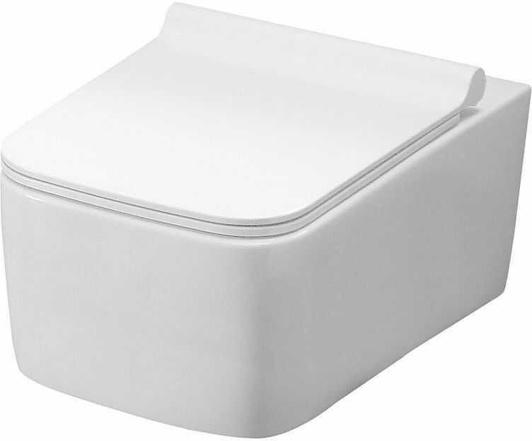 Miska WC podwieszana z deską Rico Rimless Rea (REA-C6600)