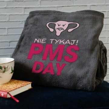 PMS DAY - koc z haftem