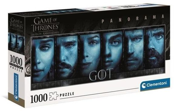 Puzzle 1000 Panorama Game of Thrones - Clementoni