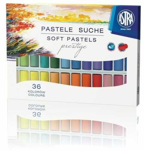 Pastele suche Astra Prestige 36 kolorów 102764
