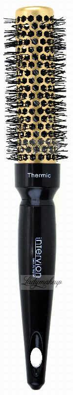 Inter-Vion - Thermic Hair Styling Brush - Termiczna szczotka do stylizacji krótkich włosów 25 mm - Gold Label