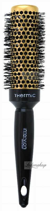 Inter-Vion - Thermic Hair Styling Brush - Termiczna szczotka do stylizacji średniej długości włosów 35 mm - Gold Label