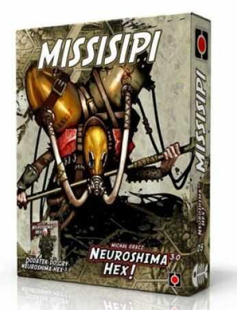 Neuroshima Hex 3.0 Missisipi - rozszerzenie, dodatek