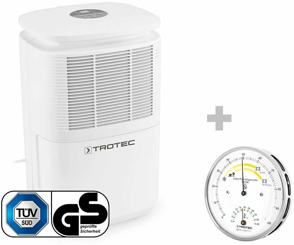 Osuszacz powietrza TTK 30 E + Termohigrometr BZ15M
