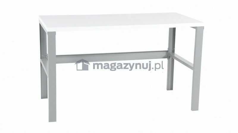 Stół warsztatowy wym. 1200x750x895 mm (półka nie)