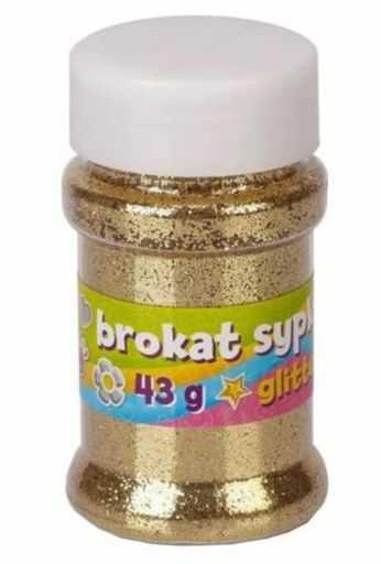 Brokat sypki Astra Creativo 43 g 102283 102283-ZL, Kolor: Złoty
