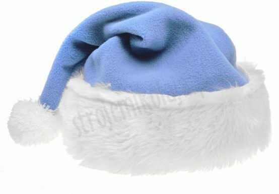 Czapka Mikołaja błękitna