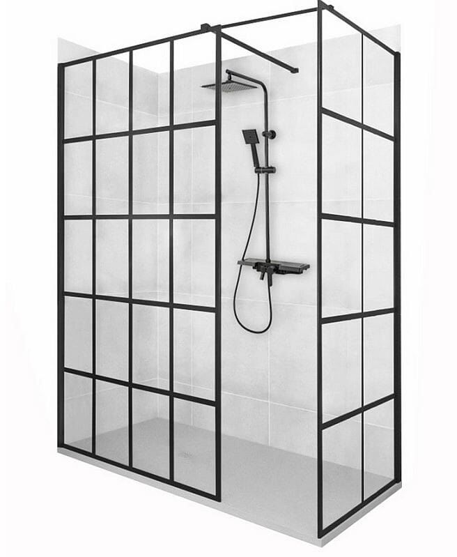 Kabina prysznicowa walk-in 70x90 Bler-1 Rea