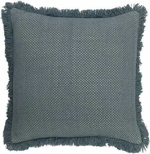 furn. Sienna poduszka wypełniona poliestrową, turkusowa, 45 x 45 cm
