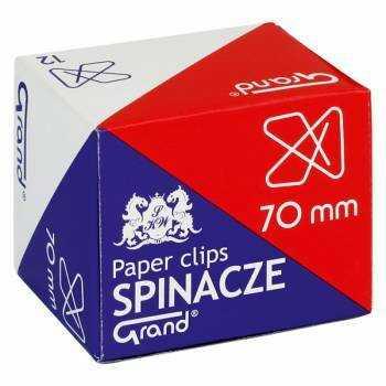 Spinacze 70 mm, krzyżowe biurowe (12) - X00825