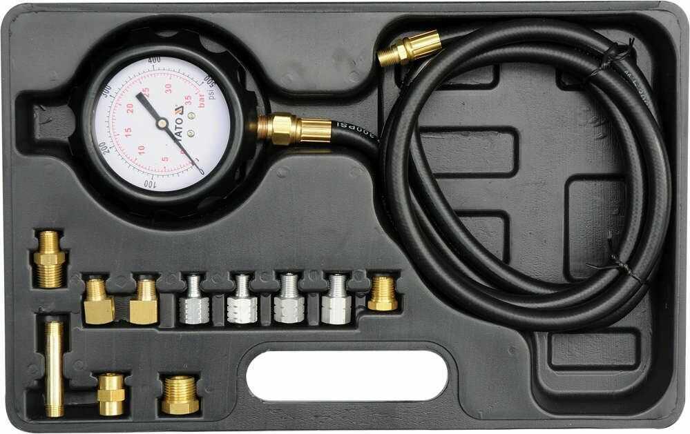 Miernik ciśnienia oleju 0-500psi 0-35bar Yato YT-73030 - ZYSKAJ RABAT 30 ZŁ
