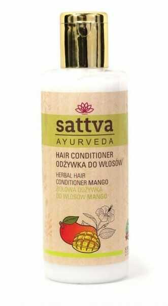 Odżywka do Włosów Mango, Sattva, 210 ml