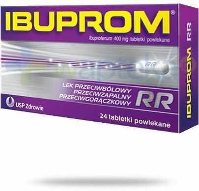 Ibuprom RR 400 mg 24 tabletek
