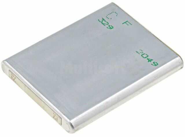 Akum: Li-Ion; 553443; 3,7V; 930mAh; 5,4x33,9x42,8mm