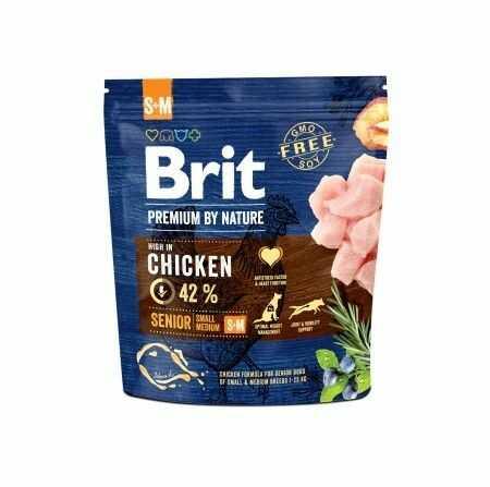 Brit Premium By Nature Senior Small/Medium S+M 1kg Do każdego zamówienia dodaj prezent. Bez dodatkowych wymagań - tak łatwo jeszcze nie było!